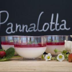 Десерт из сливок Панакотта
